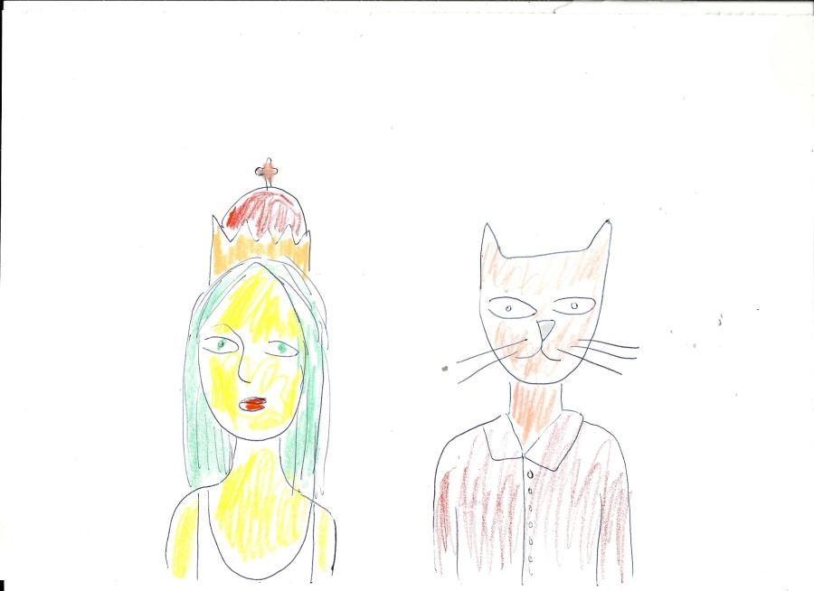 Queen and catman