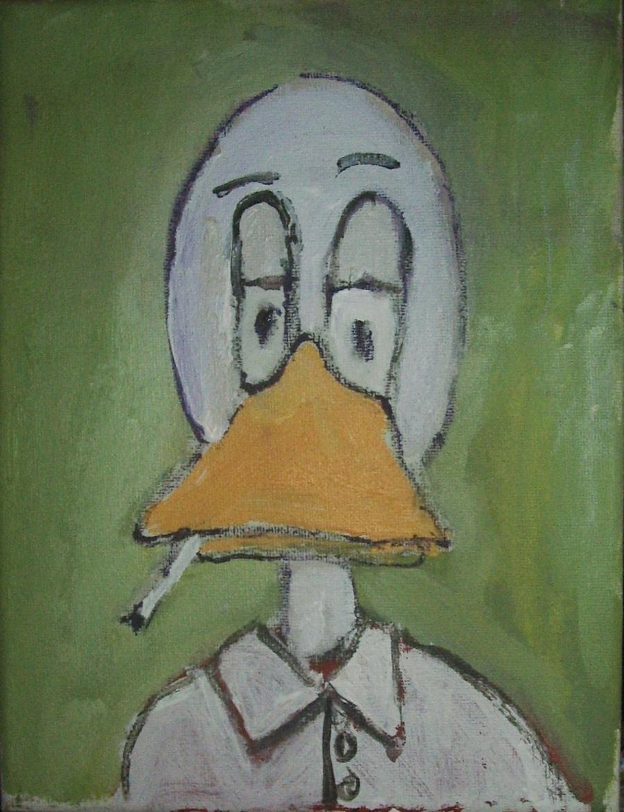 smoking duck